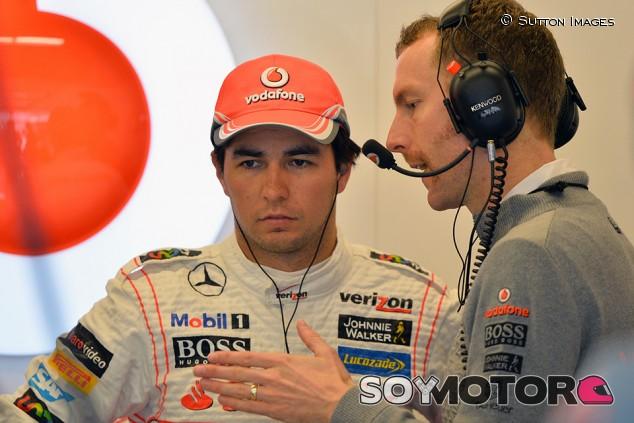 """Pérez: """"La temporada con McLaren dañó mi reputación"""" - SoyMotor.com"""