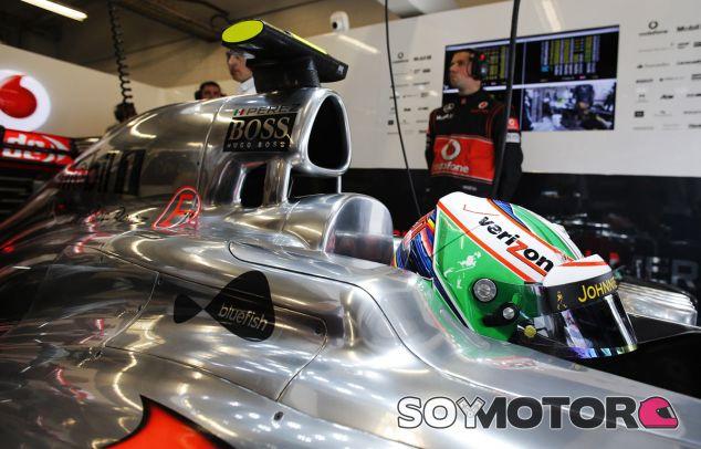 McLaren en el GP de Estados Unidos F1 2013: Domingo