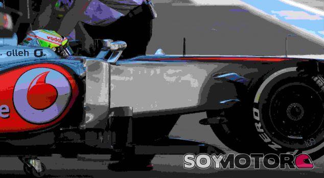 Sergio Pérez entra de nuevo en el box de McLaren en Corea - LaF1