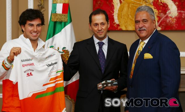 Sergio Pérez, a favor de la doble puntuación en Abu Dabi