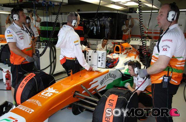 Di Resta admite que Pérez podría sustituirlo en Force India