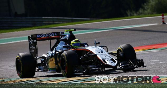 Sergio Pérez en la clasificación del GP de Bélgica - LaF1.es