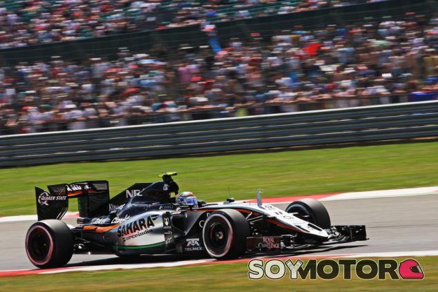 Sergio Pérez confía en que el circuito de Spa sea favorable al VJM08 - LaF1
