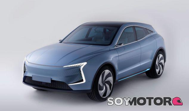 El SF5 será un SUV con perfil coupé, minentras que el SF7 casi es una berlina sobre elevada - SoyMotor