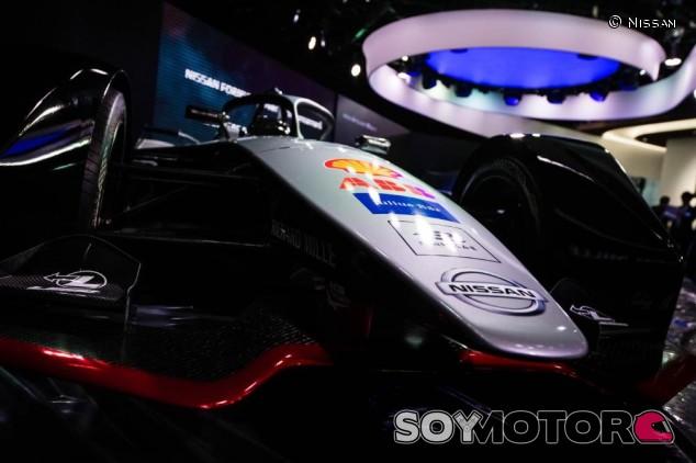 Monoplaza de Fórmula E de Nissan - SoyMotor.com