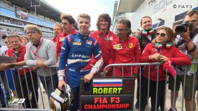 Robert Shwartzman, campeón de Fórmula 3 2019 - SoyMotor