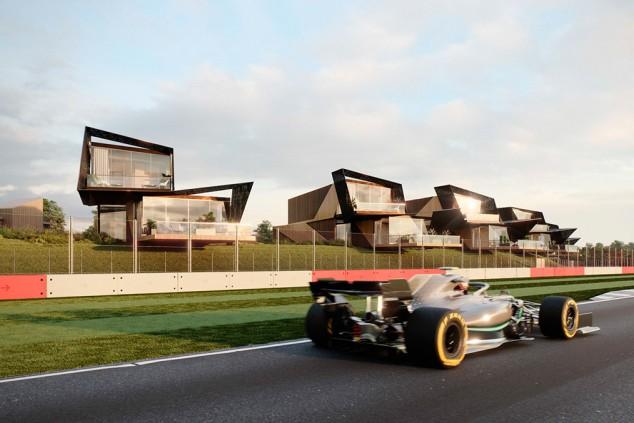 Ya puedes vivir en un circuito: apartamentos a pie de pista en Silverstone - SoyMotor.com