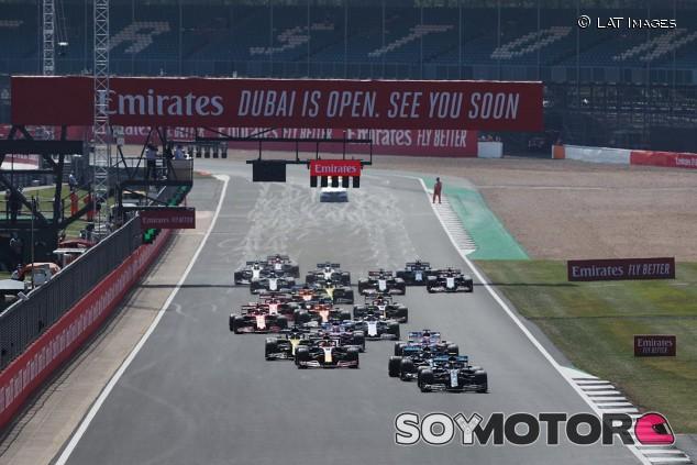 Silverstone confirma que tendrá la primera clasificación al 'sprint' de la F1 - SoyMotor.com