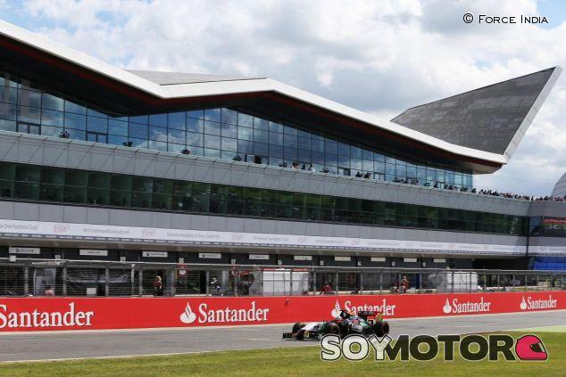Recta principal del Circuito de Silverstone - LaF1
