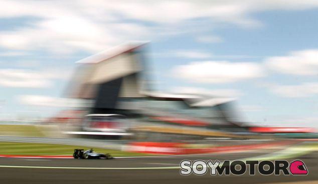 El coche de Merceders en Silverstone (©Silverstone) –SoyMotor.com