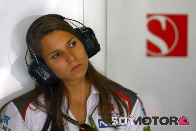 Simona de Silvestro sale en defensa de las mujeres - LaF1