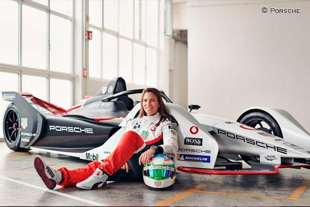 Simona de Silvestro y Thomas Preining, nuevo probadores de Porsche - SoyMotor.com