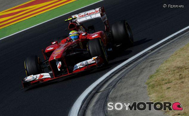 Felipe Massa en el Hungaroring