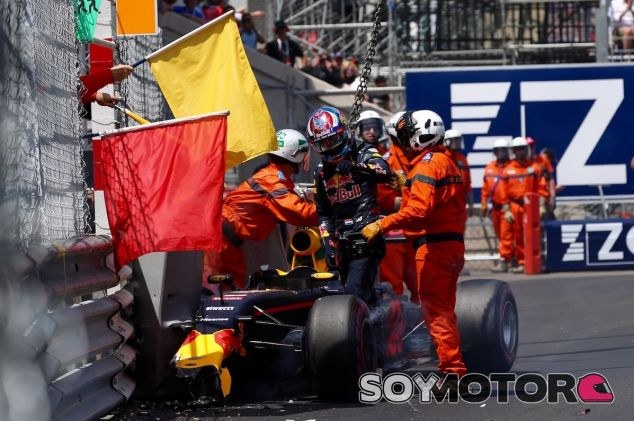 Accidente de Max Verstappen en Mónaco - LaF1