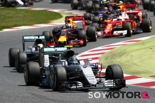 Salida del Gran Premio de España - LaF1