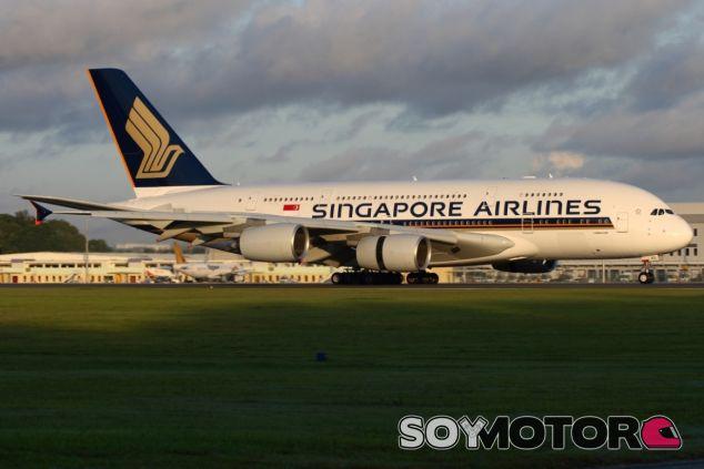 Un Airbus A380 de Singapore Airlines - LaF1