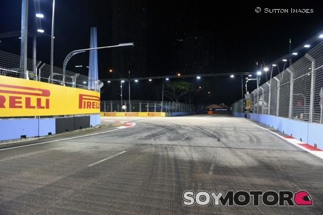 Pirelli avisa de la alta probabilidad de coche de seguridad en Singapur - SoyMotor.com