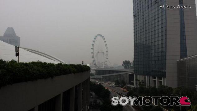 La contaminación que cubre Singapur va menguando poco a poco - LaF1