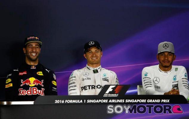 Los tres hombres más rápido de la clasificación - LaF1