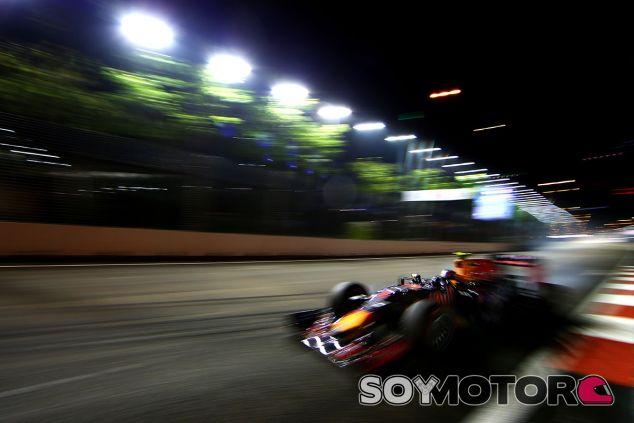 Red Bull en el GP de Singapur F1 2015: Viernes - LaF1