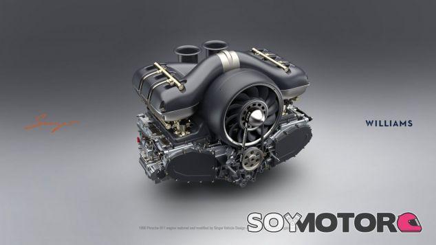 El motor creado por Williams y Singer para el Porsche 911 –SoyMotor.com