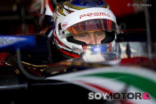Sirotkin al volante de su GP2 durante los últimos test de Abu Dabi - LaF1