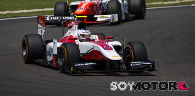 Sirotkin durante una carrera de GP2 - LaF1