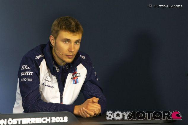 Sergey Sirotkin en el GP de Austria - SoyMotor