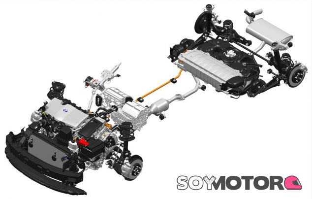 Sistema de propulsión híbrido del Toyota Prius - SoyMotor.com