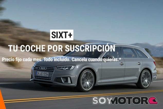 Sixt+: llega a España el Netflix del alquiler de coches - SoyMotor.com
