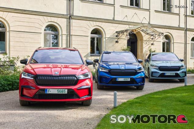 Skoda Enyaq, el primer eléctrico de la marca - SoyMotor.com