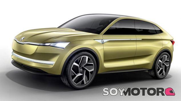 El Skoda Vision E será la fase del futuro SUV eléctrico con la insignia RS - SoyMotor