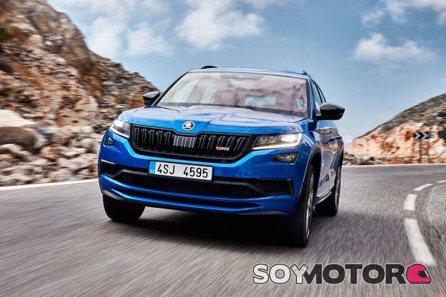 Skoda Kodiaq RS: el SUV más potente y rápido en la historia de la marca - SoyMotor.com