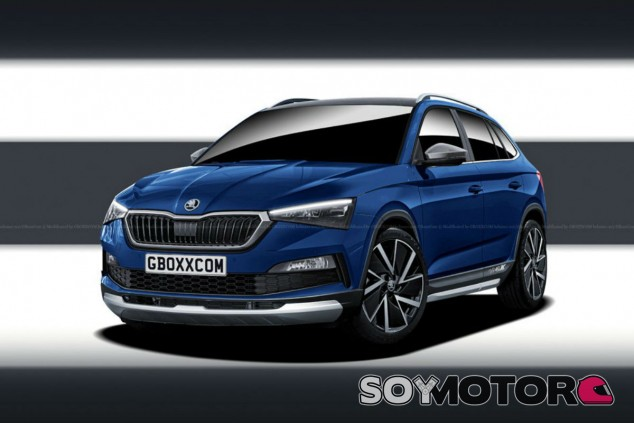 Skoda Scala Cross - SoyMotor.com