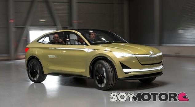 Skoda Vision E Concept - SoyMotor.com