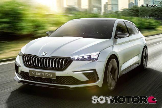 Skoda Vision RS Concept - SoyMotor.com