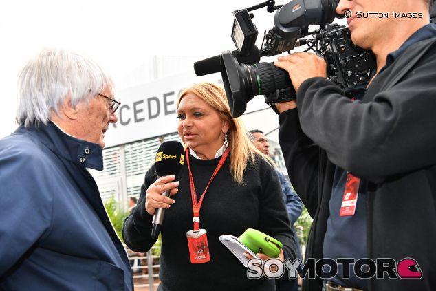 Stella Bruno, reportera de Sky Italia - SoyMotor