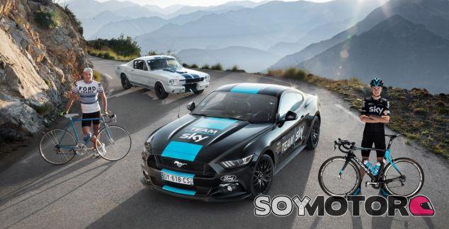 Ford Mustang en el Tour Francia 2016 con Sky Team -SoyMotor