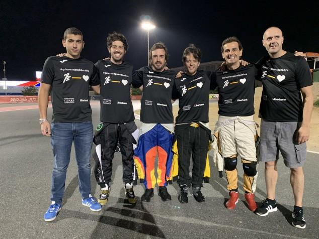 Pole de Alonso y de la Rosa para las 24 Horas de karting de Dubái 2019 - SoyMotor.com