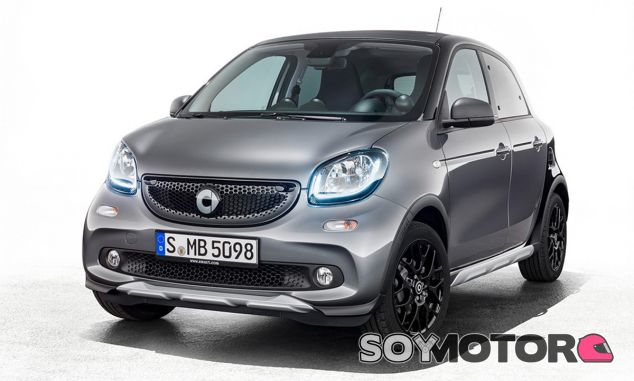 Smart ForFour Crosstown Edition - SoyMotor