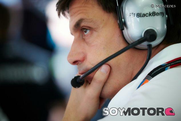 Toto Wolff en el GP de Malasia - LaF1