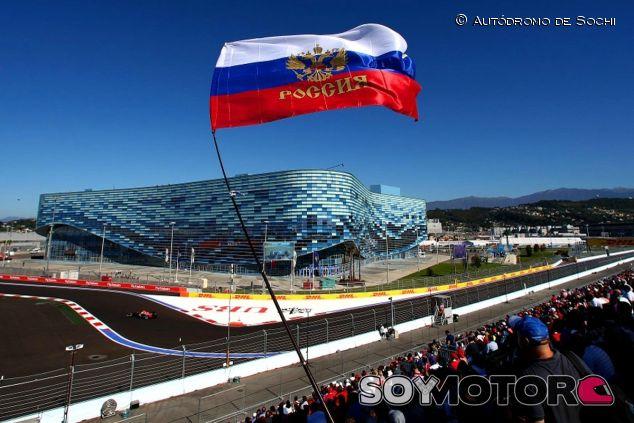 El GP de Rusia tiene un nuevo patrocinador - LaF1