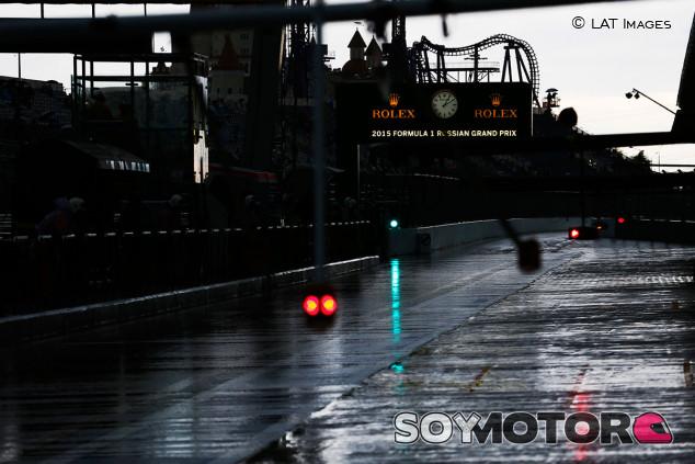 Las lluvias amenazan el sábado del GP de Rusia F1 2021 - SoyMotor.com