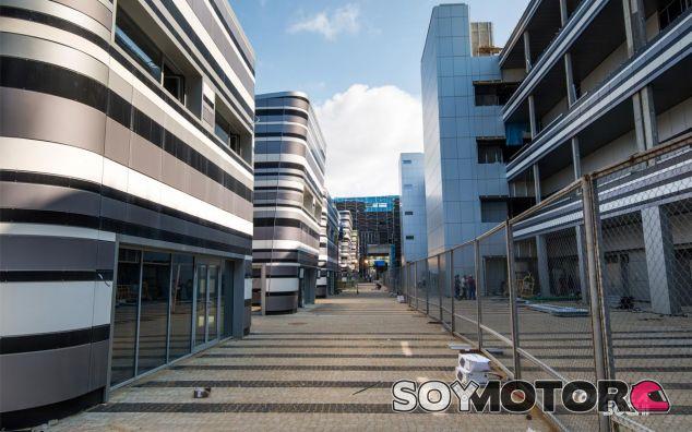 Edificio de boxes de Sochi - LaF1