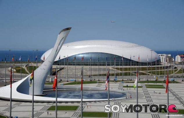 Preparativos del circuito de Sochi - LaF1