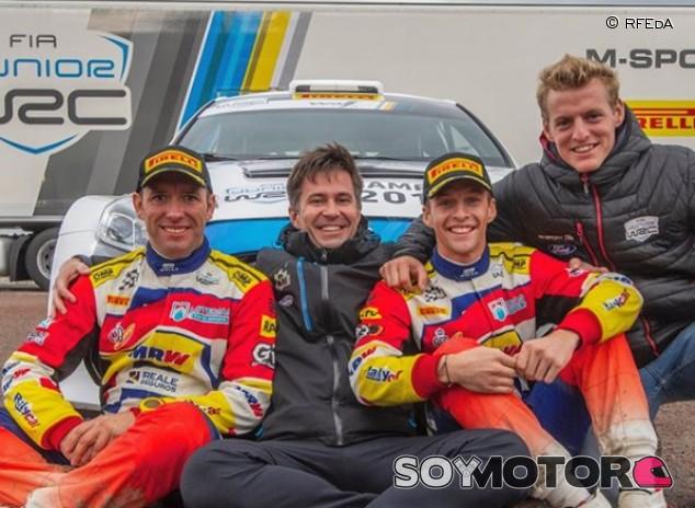 Los Solans y 'Cohete', a por los 'gallos' del WRC2 - SoyMotor.com
