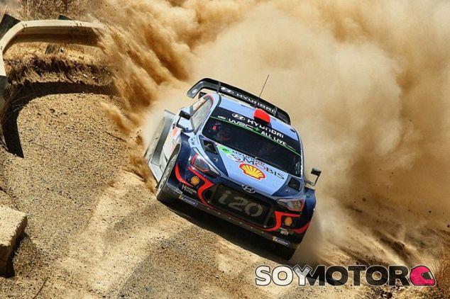 Dani Sordo en el Rally de México 2018 - SoyMotor.com