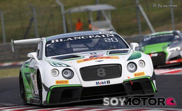 El Bentley número 8 defenderá liderato en Barcelona - SoyMotor