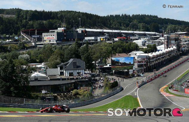 Imagen de archivo del GP de Bélgica de 2015 - LaF1