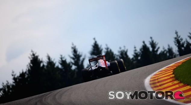 Max Verstappen en el GP de Bélgica 2015 - LaF1